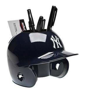 New York Yankees Desk Caddy MLB Mini Batting Helmet