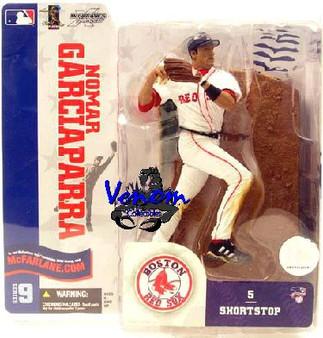 Nomar Garciaparra 2 Red Sox White Jersey Variant MLB S-9 Figure