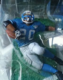 Barry Sanders Detroit Lions (Retro) Variant NFL Legends 1 Figure