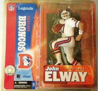 John Elway Denver Broncos Variant (White) NFL Legends 1 Figure