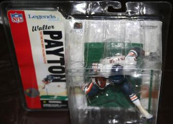 Walter Payton Chicago Bears White Variant NFL Legends 2 Figure