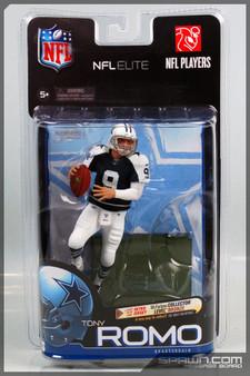 Tony Romo NFL Elite Series 1 Exclusive Retro Bronze CL Figure