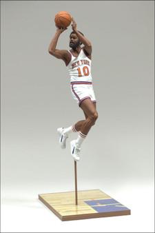 """Walt """"Clyde"""" Frazier New York Knicks NBA Legends 2 Action Figure"""