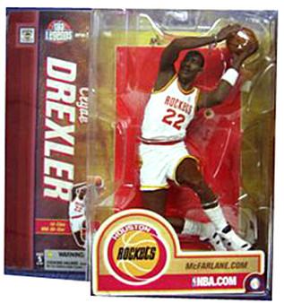 Clyde Drexler Houston Rockets Variant NBA Legends 2 Figure