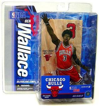 Ben Wallace 2 Chicago Bulls NBA Series 12 Figure