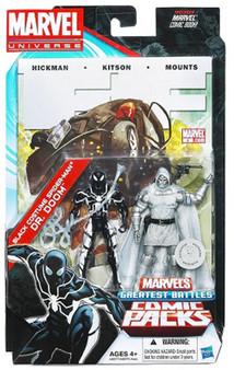 Marvel U Exclusive Black Costume Spider-Man & Dr. Doom 2-Pack