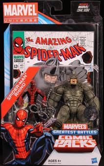 Marvel U Exclusive Spider-Man vs Rhino Action Figure 2-Pack