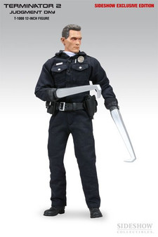 """Sideshow """"T-1000"""" T2 Judgement Day Exclusive 12"""" Figure"""