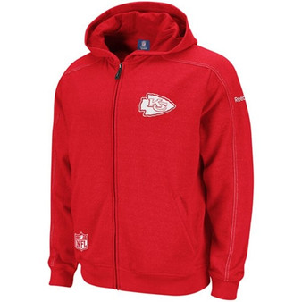 Kansas City Chiefs NFL OnField Static Storm Hooded Jacket