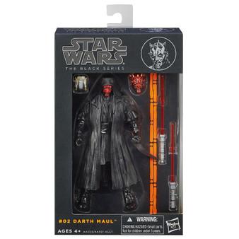 "Star Wars Darth Maul The Black Series 6"" Scale Figure"