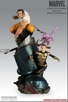 Sideshow X-Men VS Sentinel No. 3 Exclusive Polystone Diorama