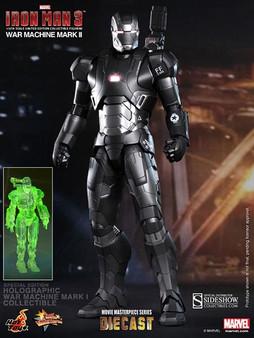 Hot Toys Iron Man 3 War Machine Mark II Diecast Excl 1/6 Figure