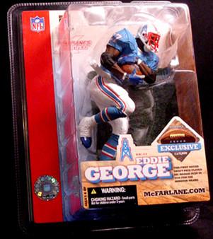 Eddie George Houston Oilers Super Bowl XXXVIII Exclusive Figure