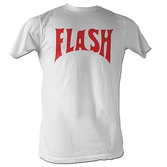 Flash Gordon Flash Front Only American Classics White T-Shirt
