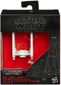 Star Wars Titanium Series Mini Ren's Command Shuttle (White)