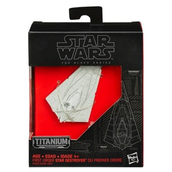 Star Wars Titanium Black Series Mini First Order Star Destroyer