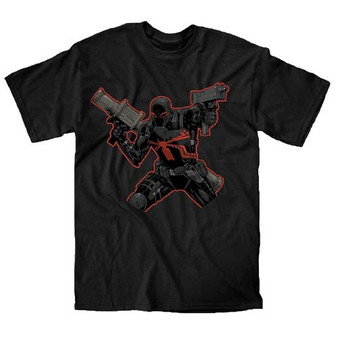Marvel Spider-Man New Venom Arsonal Black T-Shirt