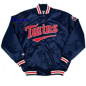 Majestic Minnesota Twins Classic MLB Satin Jacket