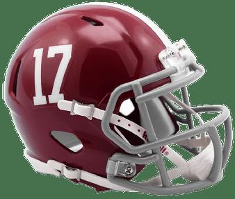 Alabama Crimson Tide Riddell NCAA Mini Revo Speed Helmet