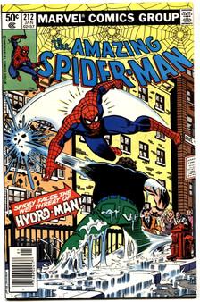 Marvel Comics Amazing Spider-Man #212 (1981)