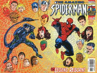 Marvel Comics Amazing Spider-Man #1 (1999) Direct Edition