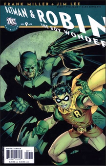 DC Comics Batman & Robin (2005) The Boy Wonder #9 First Print