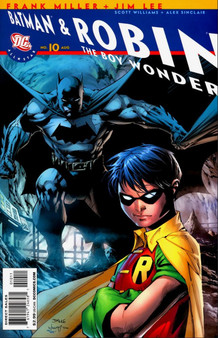 DC Comics Batman & Robin (2005) The Boy Wonder #10 First Print