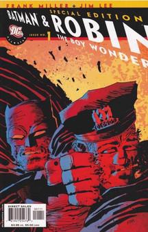 DC Comics Batman & Robin (2006) The Boy Wonder #1 Special Edition