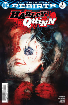 DC Universe Rebirth Harley Quinn (2016) #1 Second Print