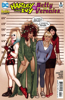 DC Comics Harley and Ivy Meet Betty and Veronica (2017) #1 Variant Cover