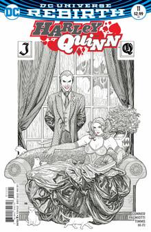 DC Universe Rebirth Harley Quinn (2016) #11 Variant Cover