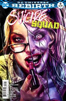 DC Universe Rebirth Suicide Squad (2016) #8 Variant Cover