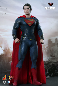"""Hot Toys Superman """"Man of Steel"""" MMS200 1/6 Scale Figure"""