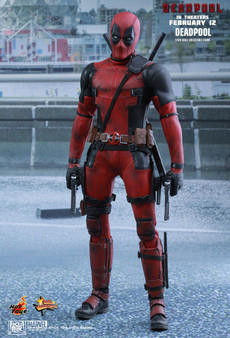 Hot Toys Deadpool MMS347 1/6 Scale Collectible Figure