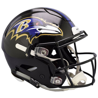 Baltimore Ravens Riddell NFL Riddell Full Size Authentic Speed Flex Helmet