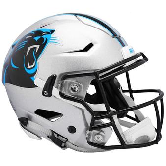 Carolina Panthers Riddell NFL Riddell Full Size Authentic Speed Flex Helmet