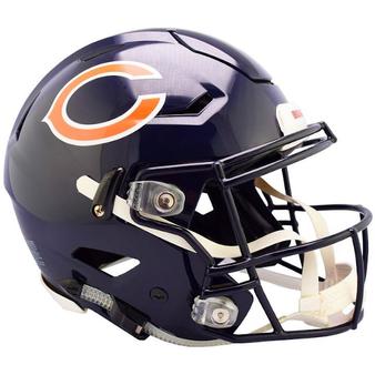 Chicago Bears Riddell NFL Riddell Full Size Authentic Speed Flex Helmet