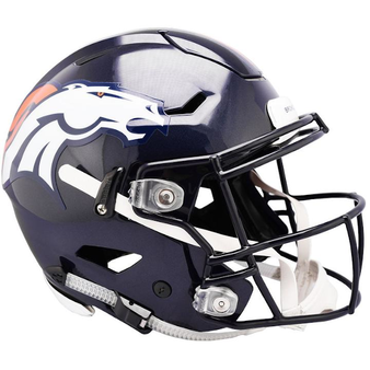 Denver Broncos Riddell NFL Riddell Full Size Authentic Speed Flex Helmet