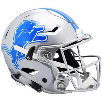 Detroit Lions Riddell NFL Riddell Full Size Authentic Speed Flex Helmet