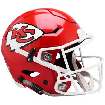 Kansas City Chiefs Riddell NFL Riddell Full Size Authentic Speed Flex Helmet