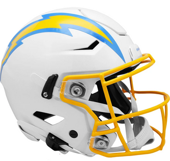 Los Angeles Chargers Riddell NFL Riddell Full Size Authentic Speed Flex Helmet