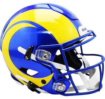 Los Angeles Rams Riddell NFL Riddell Full Size Authentic Speed Flex Helmet