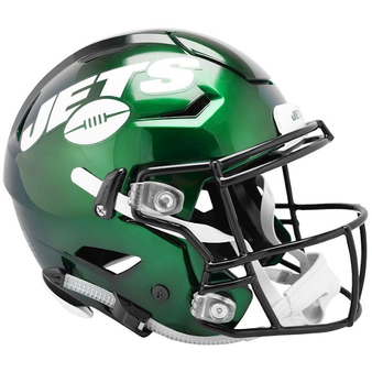 New York Jets Riddell NFL Riddell Full Size Authentic Speed Flex Helmet