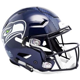 Seattle Seahawks Riddell NFL Riddell Full Size Authentic Speed Flex Helmet