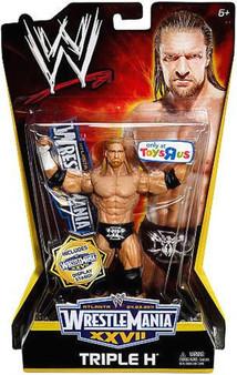 Triple H WWE WrestleMania XXVII Exclusive Action Figure