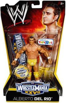 Alberto Del Rio WWE WrestleMania XXVII Exclusive Action Figure