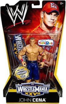 John Cena WWE WrestleMania XXVII Exclusive Action Figure