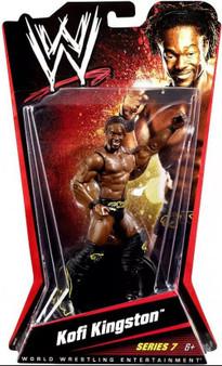 Kofi Kingston WWE Wrestling Series 7 Action Figure
