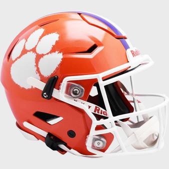 Clemson Tigers Riddell NCAA Riddell Full Size Authentic Speed Flex Helmet