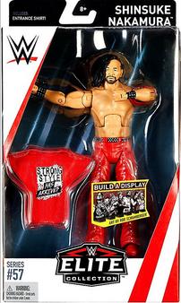 Shinsuke Nakamura WWE Wrestling Elite Collection Series 57 Action Figure